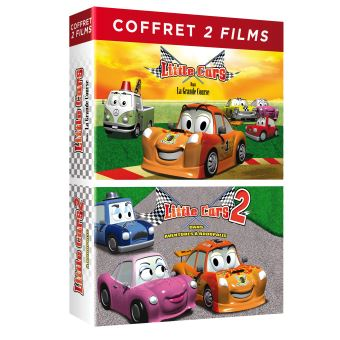 Little Cars 1 et 2 DVD