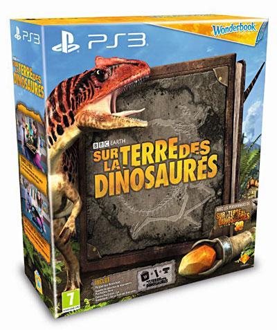Sur la terre des dinosaures + Wonderbook + Pack de découverte Move - PlayStation 3