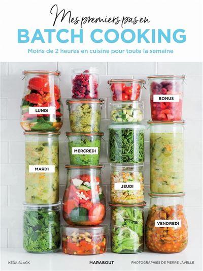 Mes premiers pas en batch cooking - 9782501140478 - 10,99 €