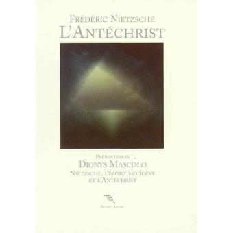 L'Antéchrist anathème contre le christianisme