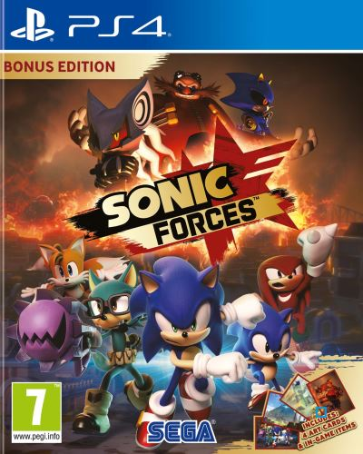 Sonic Forces Edition Bonus PS4
