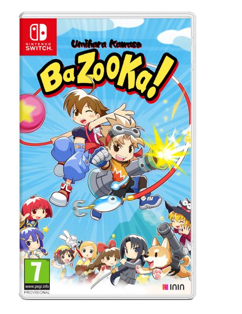 Umihara Kawase Bazooka Nintendo Switch