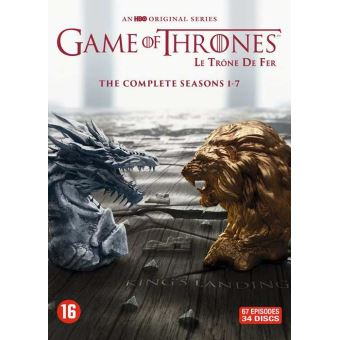 GAME OF THRONES BOX S1-S7 -BIL