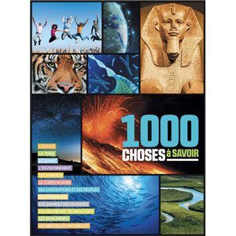 1000 CHOSES A SAVOIR