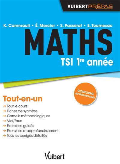 Maths TSI 1re année