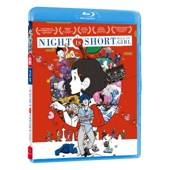 NIGHT IS SHORT WALK ON GIRL-FR-BLURAY