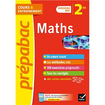 Maths 2de Prepabac