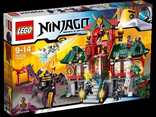 lego ninjago 70728 le temple de ninjago city lego achat prix fnac - Lego Ninjago Nouvelle Saison