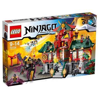 lego ninjago 70728 le temple de ninjago city - Lego Ninjago Nouvelle Saison