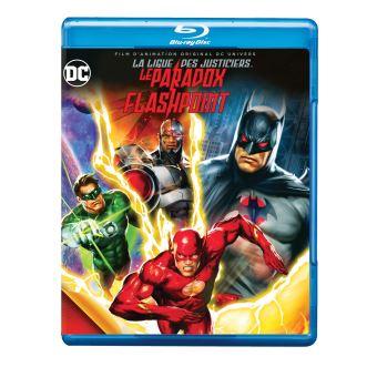 Justice leagueJustice League Le paradoxe Flashpoint Blu-ray