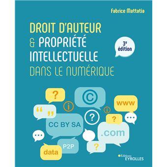 Droit d auteur et propriete intellectuelle dans le numerique  2e edition