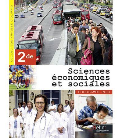 Sciences économiques et sociales - 2de (2014)