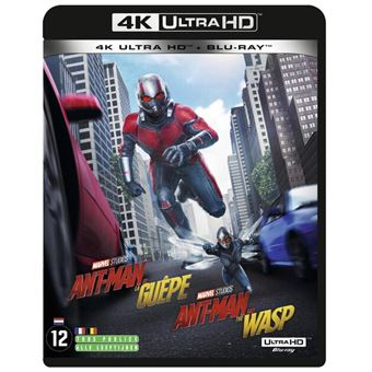 Ant-manAnt-man & the wasp-BIL-BLURAY 4K