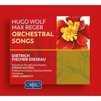 Wolf, reger-canciones orquestales