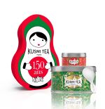 KUSM Coffret Kusmi Tea Doll Les Verts Thé Vert à la menthe N...