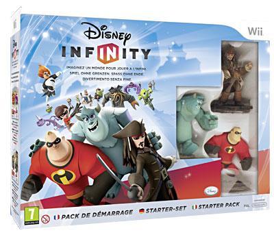 Disney Infinity Pack de démarrage Wii - Nintendo Wii