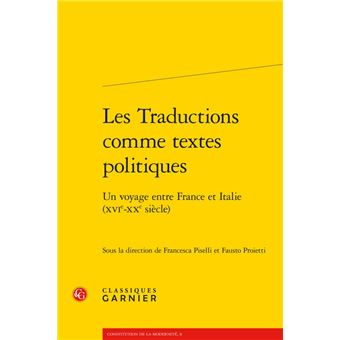 Les traductions comme textes politiques un voyage entre fran
