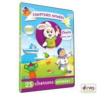 Comptines animées DVD