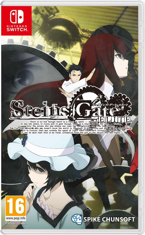 Steins Gate Elite Nintendo Switch