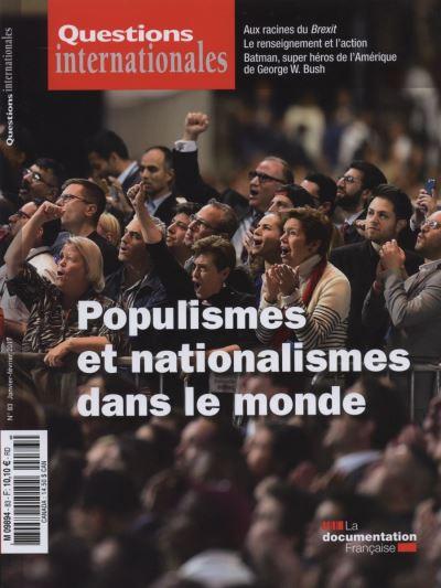 Populismes et nationalismes dans le monde