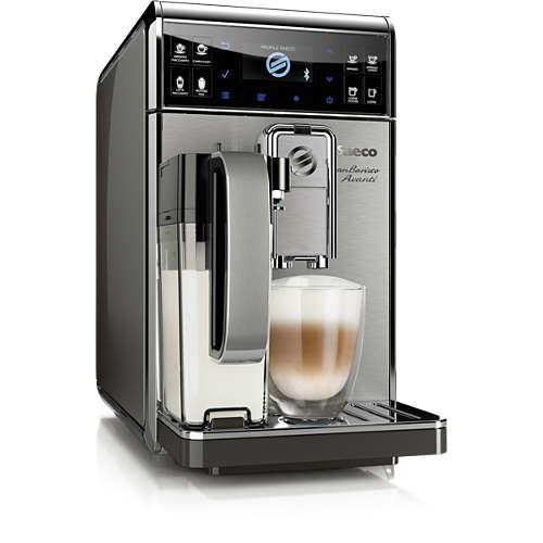 Espresso avec broyeur Philips Saeco GranBaristo Avanti HD8977/01 1900 W 1,7 L Acier inoxydable et anthracite