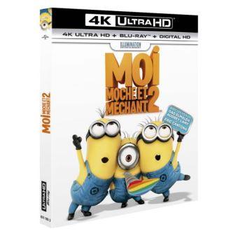 Moi, moche et méchantMoi, moche et méchant 2 Blu-ray 4K Ultra HD