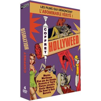 Coffret Hollyweed DVD