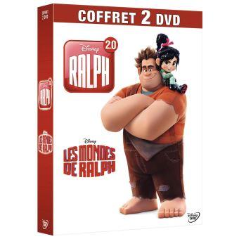 RalphCoffret Les Mondes de Ralph et Ralph 2.0 DVD