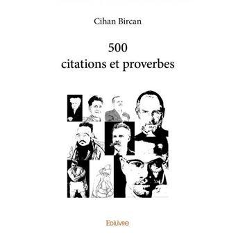 LivreFnac 500 Et Broché Citations Cihan Bircan Proverbes Achat qUSMVzp