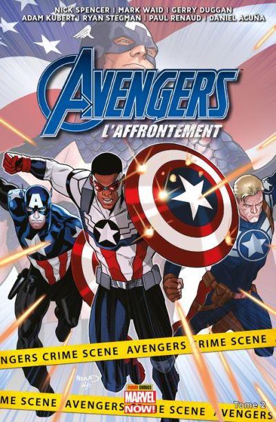 Avengers : L'affrontement T02 - La Bataille de Pleasant Hill - 9782809472158 - 12,99 €