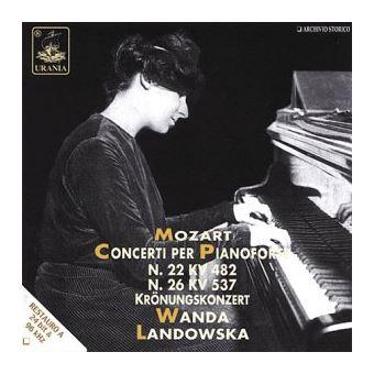 Concertos pour piano N°22 et N°26