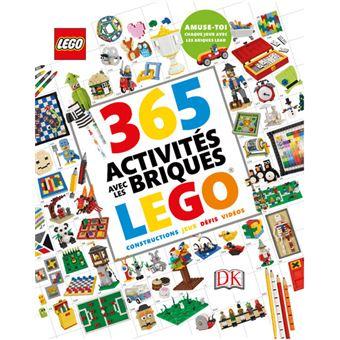 365 activit s avec les briques lego cartonn collectif. Black Bedroom Furniture Sets. Home Design Ideas