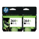 Pack HP 2 x Cartouche 364 XL Noir