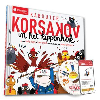 Kabouter KorsakovKabouter Korsakov in het kippenhok