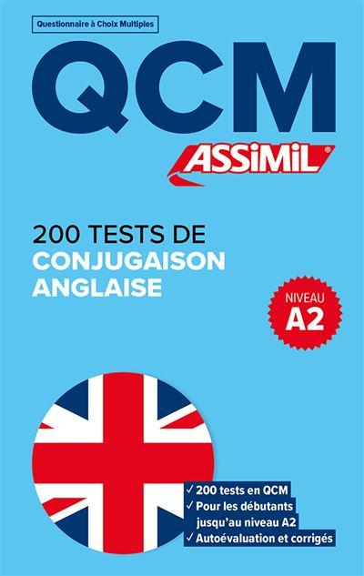 Qcm 300 Tests De Conjugaison Et Verbes Anglais Broche Valerie Hanol Achat Livre Fnac