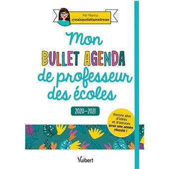 Mon Bullet Agenda de professeur des écoles 2020/2021