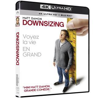 Downsizing Blu-ray 4K Ultra HD