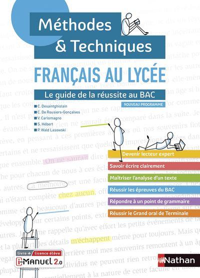 Resume Grammaire Francais Bac Science