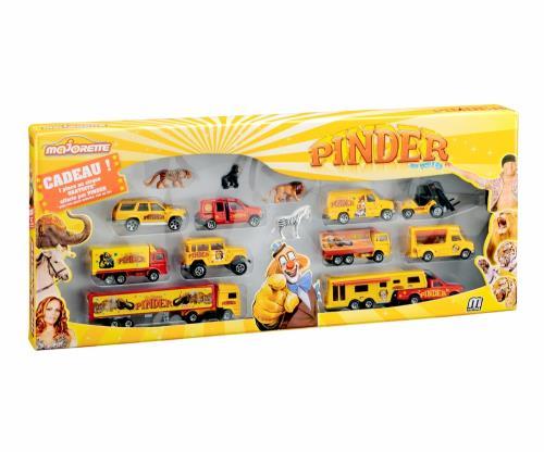 Gift Majorette Pinder Véhicules Pack 8 nOPk0w