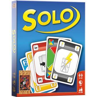 jeu de carte solo SOLO   NL   Jeu de cartes   Achat & prix | fnac