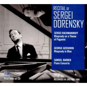 Récital de Serge Dorenski