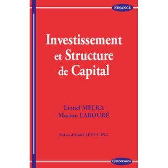 Investissement dans la structure du capital