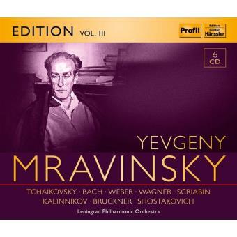 YEVGENY MRVINSKY EDT VOL III/6CD
