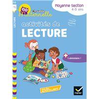 Activités de Lecture Maternelle MS