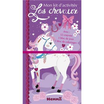 Mon kit d'activités - Les chevaux (Cheval blanc)