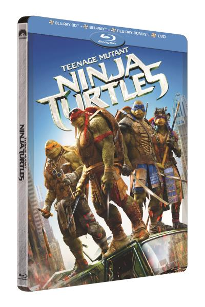 Ninja Turtles Combo Steelbook Blu-Ray