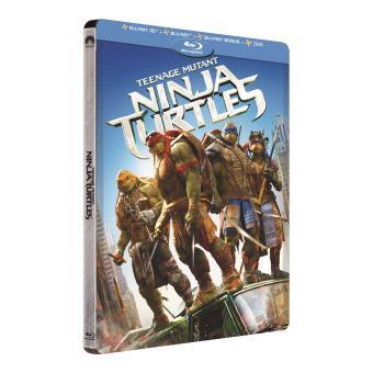 Ninja TurtlesNinja Turtles - Steelbook Combo Blu-Ray 3D + Blu-Ray du film + Blu-Ray bonus + DVD