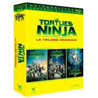 Les Tortues NinjaLes Tortues Ninjas La trilogie Blu-ray