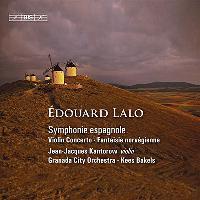 Symphonie espagnole - concerto pour violon - fantaisie norvegienne