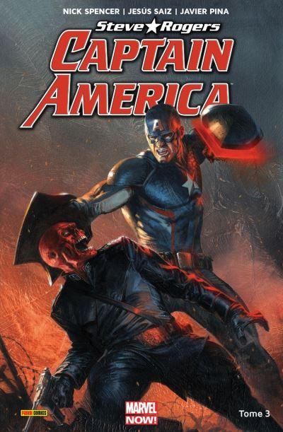 Captain America - Steve Rogers T03 - Naissance d'un empire - 9782809482058 - 12,99 €